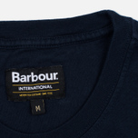 Barbour International Hill Men's T-shirt Climb Navy photo- 3