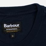 Мужская футболка Barbour International Hill Climb Navy фото- 3