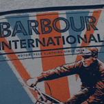 Мужская футболка Barbour International Jack Grey Marl фото- 2