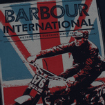 Мужская футболка Barbour International Jack Navy фото- 2