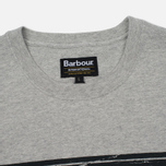 Мужская футболка Barbour International Logo Grey Marl фото- 1