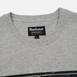 Мужская футболка Barbour International Logo Grey Marl фото- 1