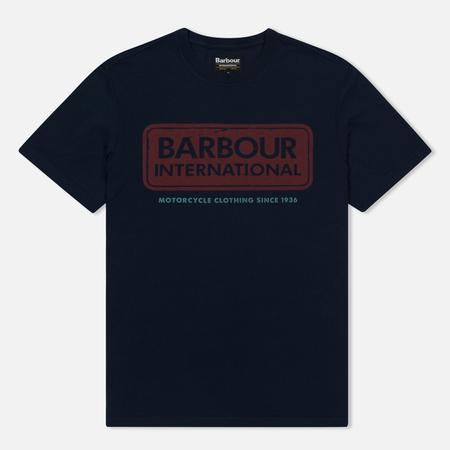 Мужская футболка Barbour International Logo Navy