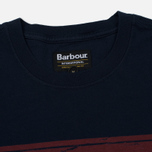 Мужская футболка Barbour International Logo Navy фото- 1
