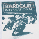 Мужская футболка Barbour International Racing Grey Marl фото- 2