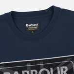 Мужская футболка Barbour International Racing Navy фото- 1