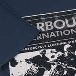 Мужская футболка Barbour International Racing Navy фото- 3