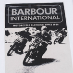 Мужская футболка Barbour International Racing White фото- 2