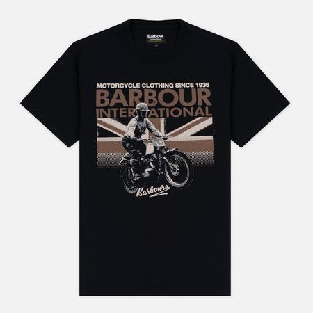 Barbour International Rider Men's T-shirt Black