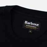 Barbour International Rider Men's T-shirt Black photo- 2