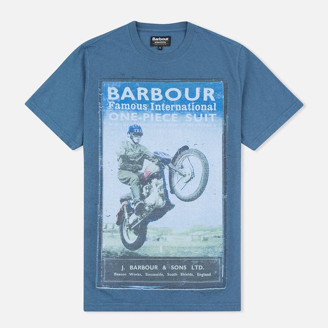 Мужская футболка Barbour International Rider Blue