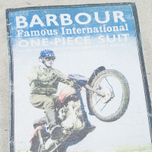 Мужская футболка Barbour International Rider Fog фото- 2