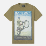 Мужская футболка Barbour International Rider Nort Green фото- 0