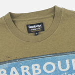 Barbour International Rider Men's T-shirt Nort Green photo- 1