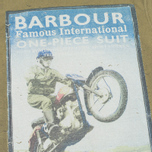 Barbour International Rider Men's T-shirt Nort Green photo- 2