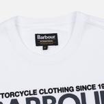 Мужская футболка Barbour International Rider White фото- 1