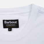 Мужская футболка Barbour International Rider White фото- 3