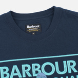 Мужская футболка Barbour International Sport Rider Navy фото- 1