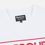 Barbour International Sport Rider Men's T-shirt White photo- 1