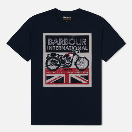 Мужская футболка Barbour International Trophy 36 Navy