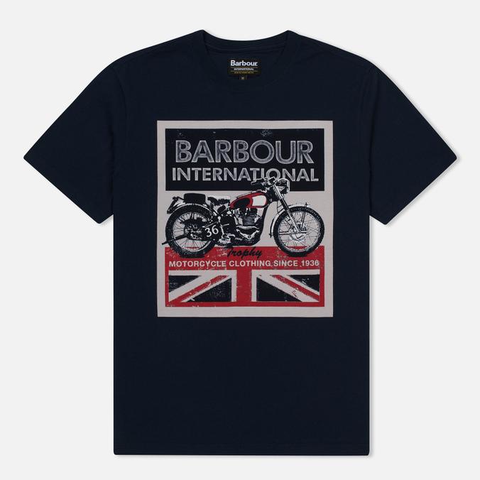 Мужская футболка Barbour International Trophy 36 Navy