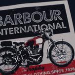 Мужская футболка Barbour International Trophy 36 Navy фото- 2