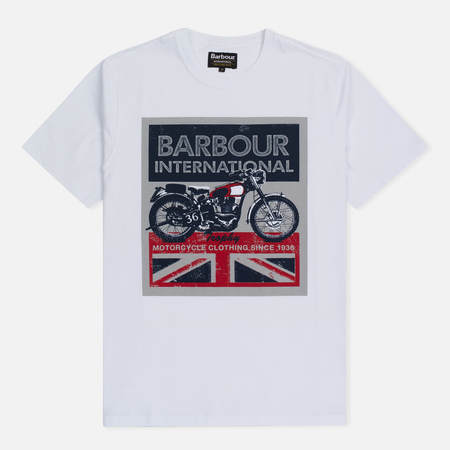 Мужская футболка Barbour International Trophy 36 White