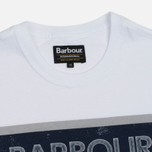 Мужская футболка Barbour International Trophy 36 White фото- 1