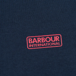 Мужская футболка Barbour Intertanional Small Logo Navy фото- 2