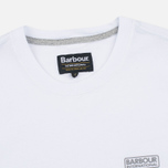 Мужская футболка Barbour Intertanional Small Logo White фото- 1