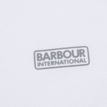 Мужская футболка Barbour Intertanional Small Logo White фото- 2