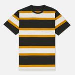 Мужская футболка Barbour Kinross Striped Forest фото- 0