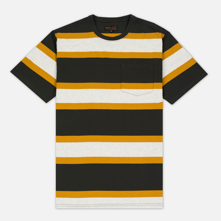 Мужская футболка Barbour Kinross Striped Forest