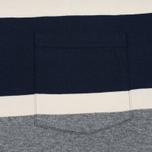 Мужская футболка Barbour Kinross Striped Navy фото- 2