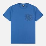Мужская футболка Barbour Major Oxbridge Blue фото- 0