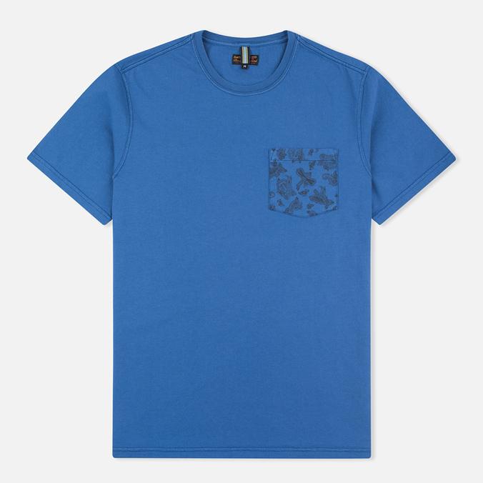 Мужская футболка Barbour Major Oxbridge Blue