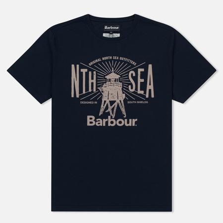 Мужская футболка Barbour North Sea Navy