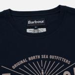 Мужская футболка Barbour North Sea Navy фото- 1