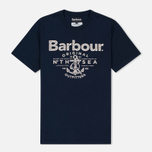 Мужская футболка Barbour North Sea Outfitters Navy фото- 0