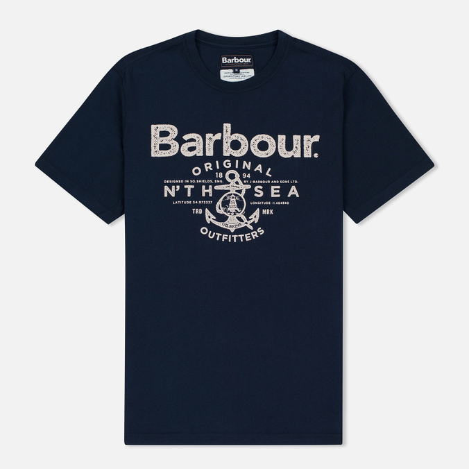 Мужская футболка Barbour North Sea Outfitters Navy