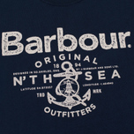 Мужская футболка Barbour North Sea Outfitters Navy фото- 2
