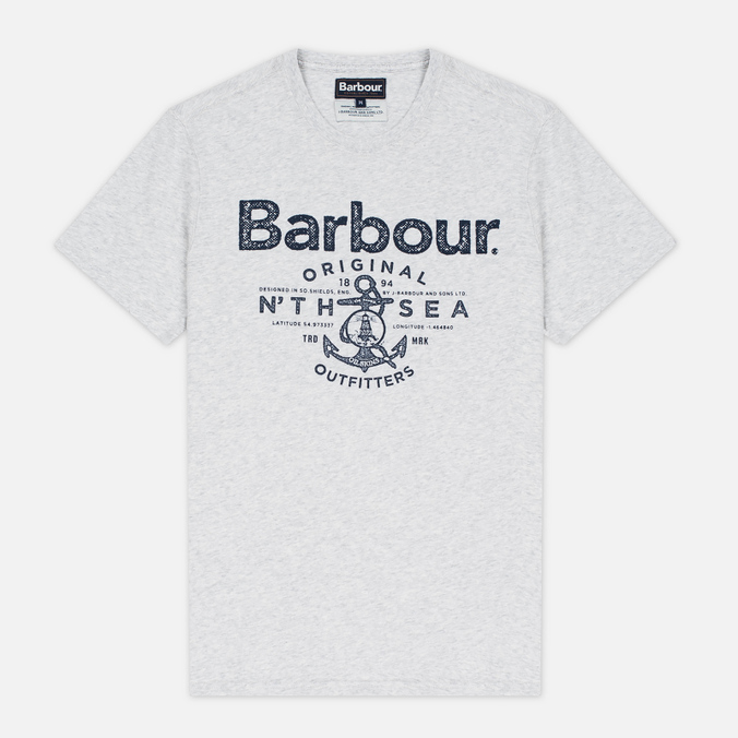 Barbour North Sea Outfitters Men's T-shirt Salight