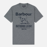 Barbour Outdoor Men's T-shirt Grey Marl photo- 0