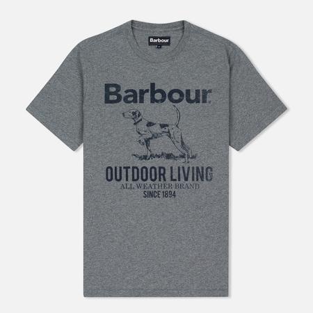 Barbour Outdoor Men's T-shirt Grey Marl