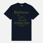 Мужская футболка Barbour Outdoor Navy фото- 0