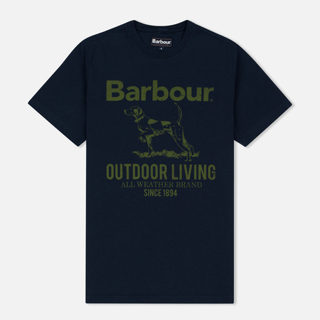 Barbour Outdoor Men's T-shirt Navy