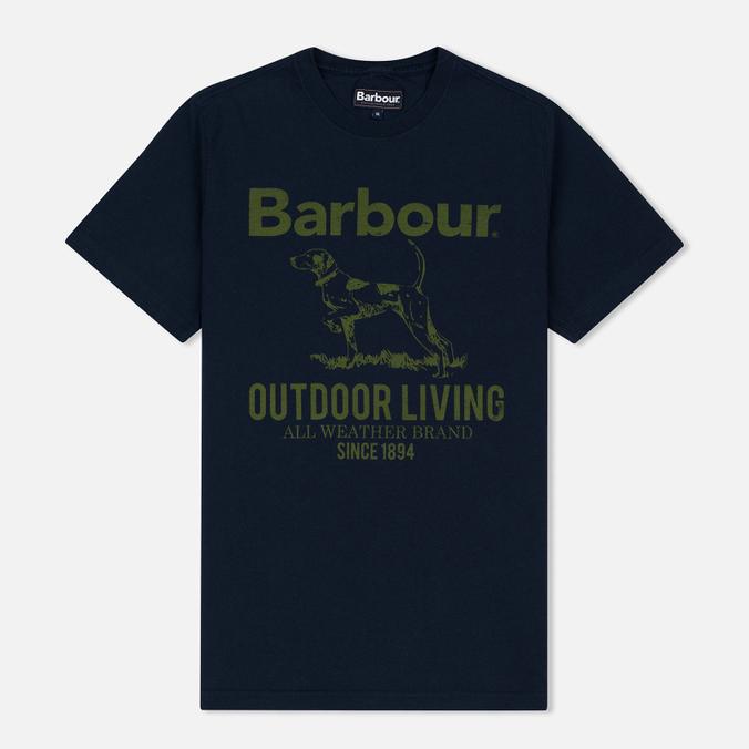 Мужская футболка Barbour Outdoor Navy