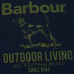 Мужская футболка Barbour Outdoor Navy фото- 2