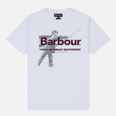 Мужская футболка Barbour Outdoors White