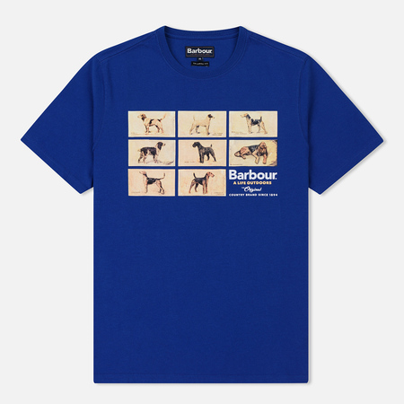 Мужская футболка Barbour Pedigree Atlantic Blue